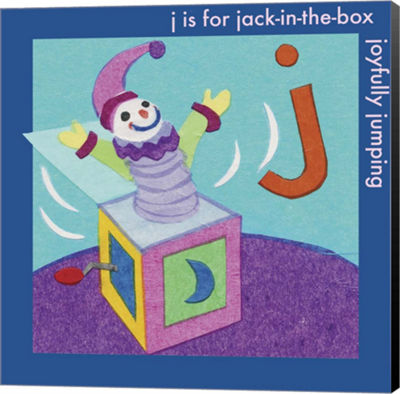 Metaverse Art J is For Jack Canvas Wall Art