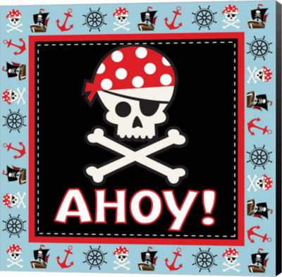 Metaverse Art Ahoy Pirate Boy III Canvas Wall Art