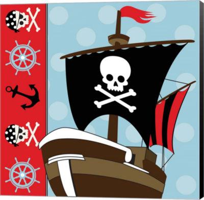 Metaverse Art Ahoy Pirate Boy V Canvas Wall Art