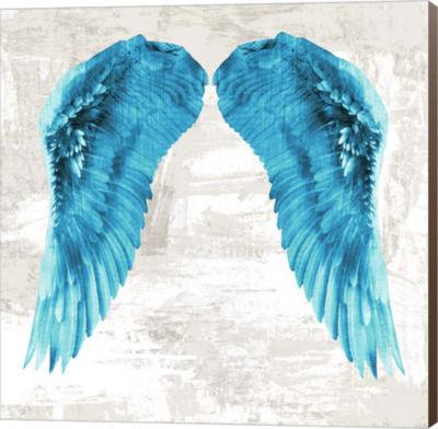 Metaverse Art Angel Wings II Canvas Wall Art