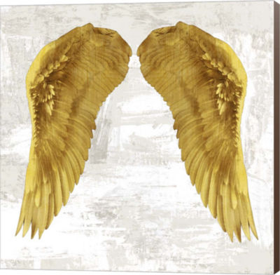 Metaverse Art Angel Wings IV Canvas Wall Art