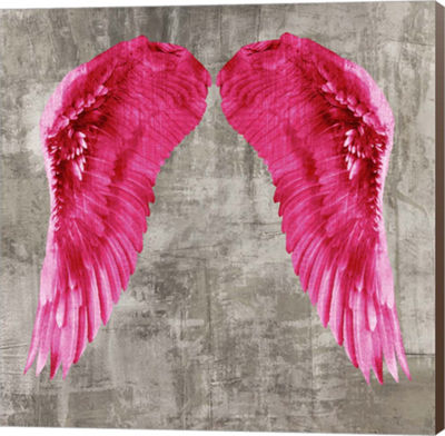 Metaverse Art Angel Wings VI Canvas Wall Art