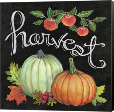 Metaverse Art Autumn Harvest IV Square Canvas WallArt