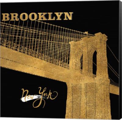 Metaverse Art Brooklyn Bridge Canvas Wall Art