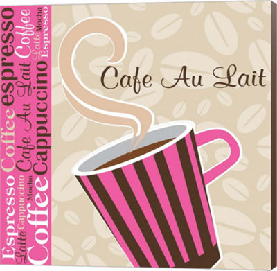 Metaverse Art Cafe Au Lait Cocoa Punch I Canvas Wall Art
