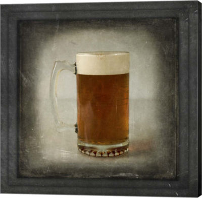 Metaverse Art Dorm Room Pub Just Beer 2 Canvas Wall Art