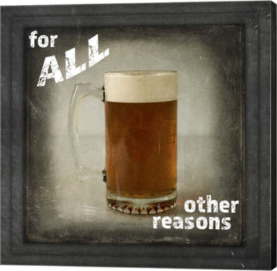 Metaverse Art Dorm Room Pub Only Other Reason Canvas Wall Art