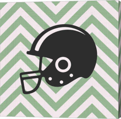 Metaverse Art Eat Sleep Play Football Part III Canvas Wall Art