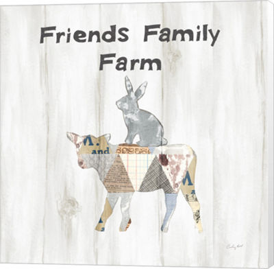 Metaverse Art Farm Family VIII Canvas Wall Art