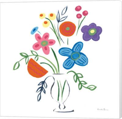 Metaverse Art Floral Medley IV Canvas Wall Art