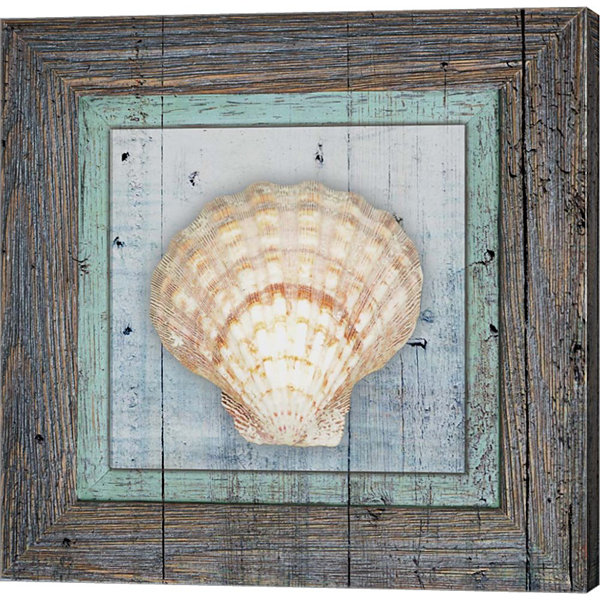 Metaverse Art Framed Gypsy Sea V1 4 Canvas Wall Art