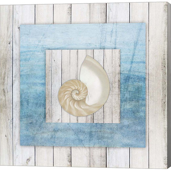 Metaverse Art Framed Gypsy Sea V3 3 Canvas Wall Art