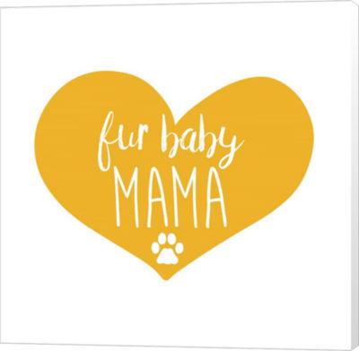 Metaverse Art Fur Baby Mama Canvas Wall Art