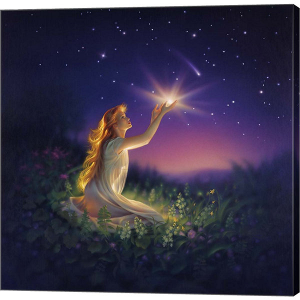 Metaverse Art Gift Of Light Canvas Wall Art