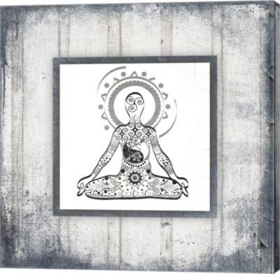 Metaverse Art Gypsy Yoga V1 2 Canvas Wall Art