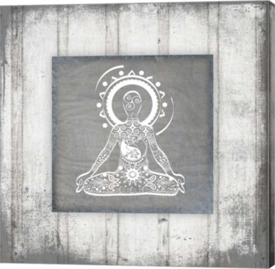 Metaverse Art Gypsy Yoga V1 3 Canvas Wall Art