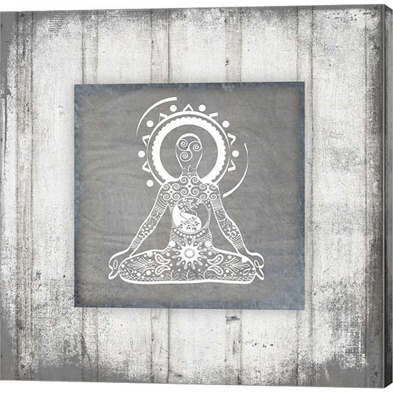 Metaverse Art Gypsy Yoga V1 3 Canvas Wall Art