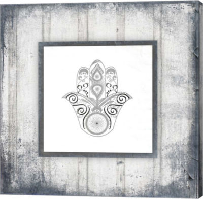 Metaverse Art Gypsy Yoga V2 2 Canvas Wall Art