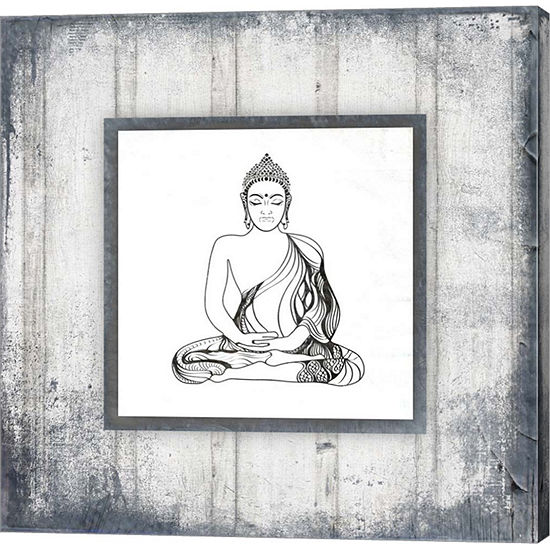 Metaverse Art Gypsy Yoga V3 2 Canvas Wall Art