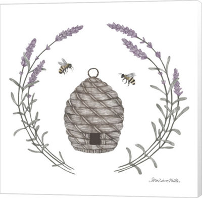 Metaverse Art Happy to Bee Home II Canvas Wall Art