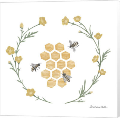Metaverse Art Happy to Bee Home III Canvas Wall Art