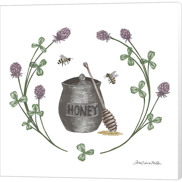 Metaverse Art Happy to Bee Home IV Canvas Wall Art