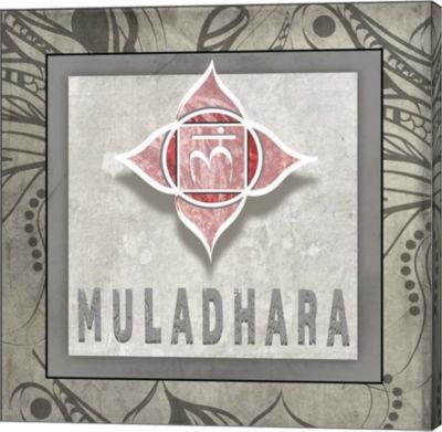 Metaverse Art Muladhara Symbol 7 Canvas Wall Art