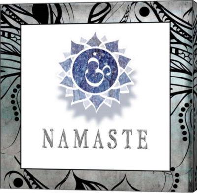 Metaverse Art Namaste Symbol 4-1 Canvas Wall Art