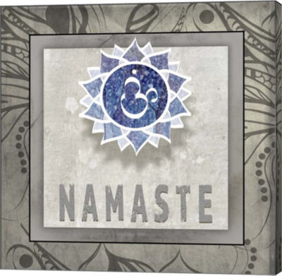 Metaverse Art Namaste Symbol 7-1 Canvas Wall Art