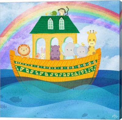 Metaverse Art Noahs Ark Canvas Wall Art