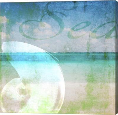 Metaverse Art Sea 1 Canvas Wall Art