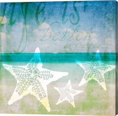 Metaverse Art Sea 6 Canvas Wall Art