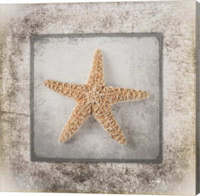 Metaverse Art Stone Star Canvas Wall Art
