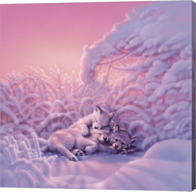 Metaverse Art Sweet Dreams Canvas Wall Art