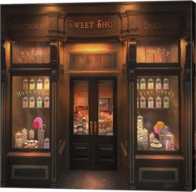 Metaverse Art Sweet Shop Canvas Wall Art