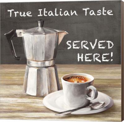 Metaverse Art True Italian Taste Canvas Wall Art