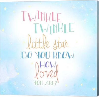 Metaverse Art Twinkle Twinkle Canvas Wall Art