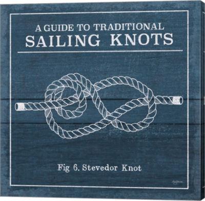 Metaverse Art Vintage Sailing Knots VI Canvas WallArt