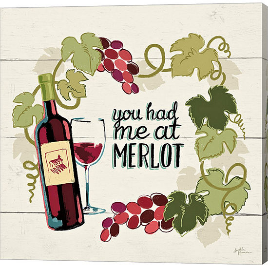Metaverse Art Wine And Friends Ii Canvas Wall Art