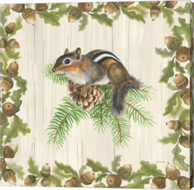 Metaverse Art Woodland Critter II Canvas Wall Art