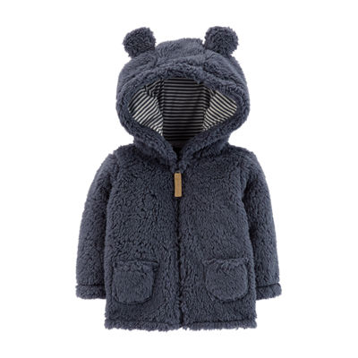 Carter S Midweight Sherpa Jacket Baby Boy Jcpenney