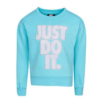 Nike Just Do It Sweatshirt - Girls Preschool