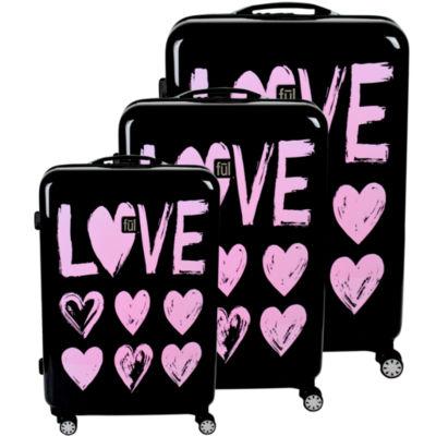 Ful Love 3-pc. Hardside Lightweight Luggage Set