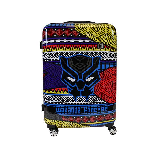 """Ful Marvel Black Panther Wakanda Hardside Lightweight 25"""" Luggage"""