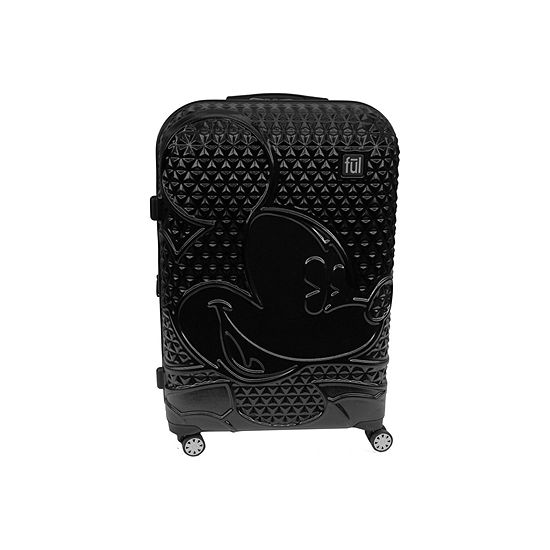 "Ful Disney MIckey Mouse Textured Lightweight 21"" Luggage"