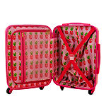 Macbeth Collection By Margaret Josephs Pine Apple 21 Inch Hardside Lightweight Luggage