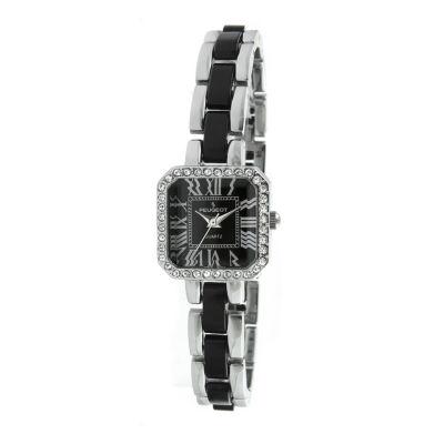 Peugeot Womens Two Tone Bracelet Watch-7072bk