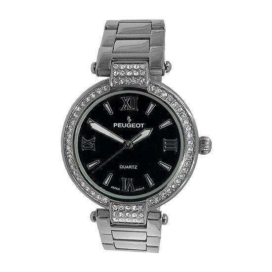 Peugeot Womens Silver Tone Bracelet Watch-7084sbk