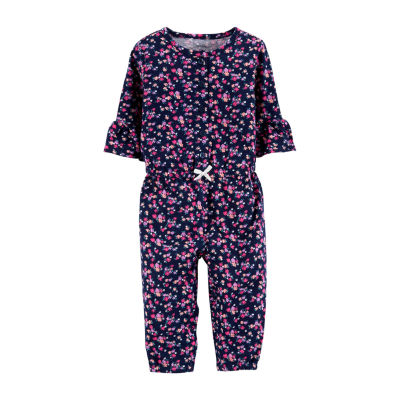 Carter's Elbow Sleeve Jumpsuit - Baby