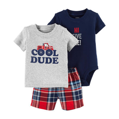 Carter's 3-Pc. Bodysuit Set - Baby Boys